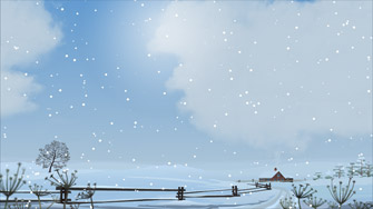 Weather screensaver